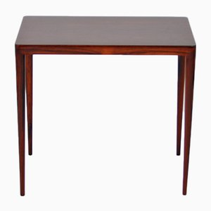 Rosewood Side Table by Severin Hansen for Haslev Møbelsnedkeri, 1960s
