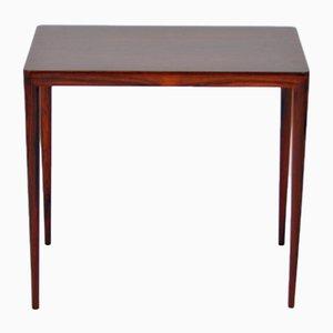 Table Appoint en Palissandre par Severin Hansen pour Haslev Møbelsnedkeri, 1960s