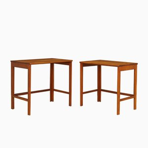 Teak Nesting Tables from France & Søn / France & Daverkosen, 1970s, Set of 2