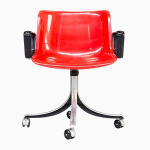 Modus Desk Chair by Osvaldo Borsani for Tecno, 1970s