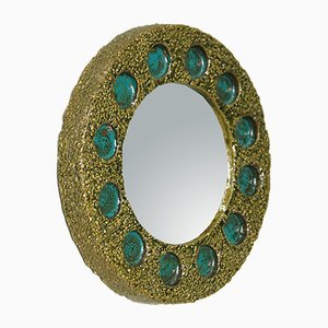 Mid-Century Ceramic Mirror from Ifö, 1960s