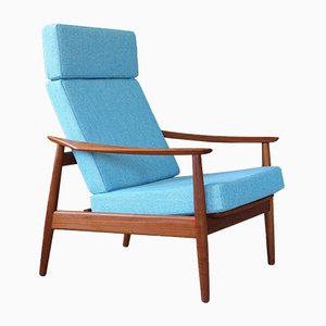 Mid-Century Lounge Chair by Arne Vodder for France & Søn / France & Daverkosen