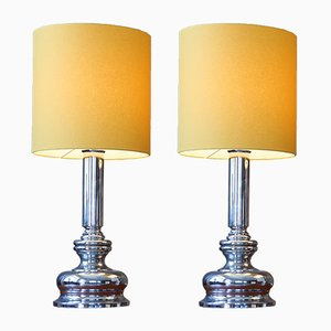 Lámparas de mesa, años 70. Juego de 2