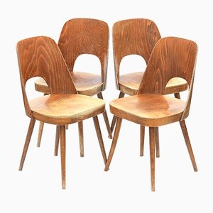 Type 515 Dining Chairs by Oswald Haerdtl for TON, 1960s, Set of 4