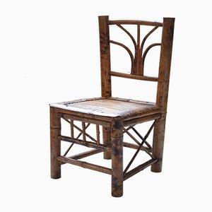 Chaise pour Enfant en Bambou, 1920s