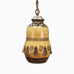Deckenlampe aus Keramik, 1970er