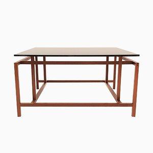 Mesa de centro de teca de Henning Nørgaard para Komfort, años 60