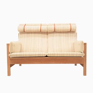 Model 2252 Oak Sofa by Børge Mogensen for Fredericia, 1960s