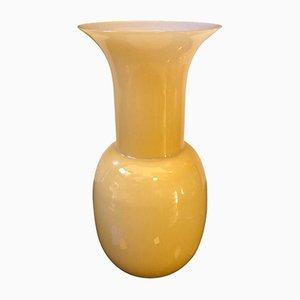 Hellbraune Vase aus Muranoglas von Toso, Aureliano, 2000er