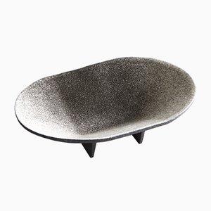 Cuenco Alluvium de hierro fundido esmaltado de Elinor Portnoy