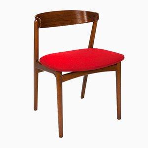 Danish Teak Desk Chair, 1960s