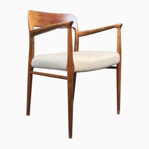 Modell 56 Stuhl aus Teak von Niels Otto Møller für J.L. Møllers, 1960er