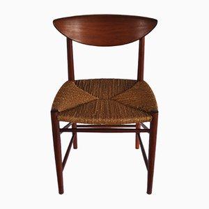 Mid-Century Dining Chair by Peter Hvidt & Orla Mølgaard-Nielsen for Søborg Møbelfabrik