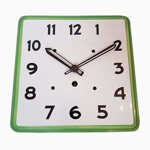 Art Deco Ceramic Kitchen Wall Clock