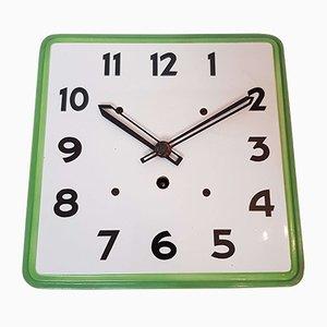 Reloj de pared de cocina Art Déco de cerámica