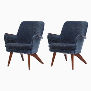 Pedro Armchairs by Carl Gustaf Hiort af Ornäs, 1950s, Set of 2