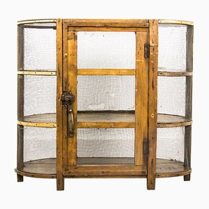 Antique Meat Safe Wall Unit