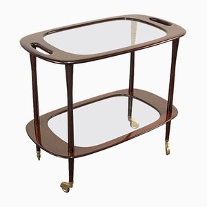 Italian Bar Cart by Cesare Lacca for Cassina, 1950s