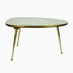 Tavolino da caffè mosaicato di Ilse Möbel, anni '50
