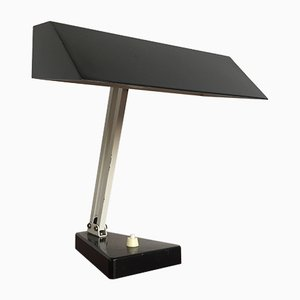 Lampada da tavolo industriale di H. Th. J. A. Busquet per Hala, anni '50