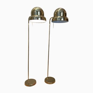 Floor Lamps by Bergboms, 1960s, Set of 2
