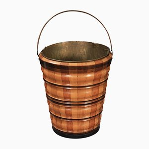 Antique Wooden Peat Bucket