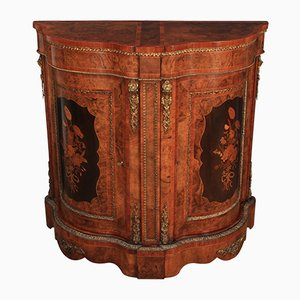 Antique Inlaid Marquetry Cabinet