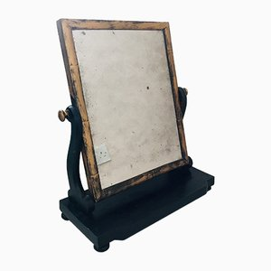 Antique Victorian Oversized Tabletop Mirror