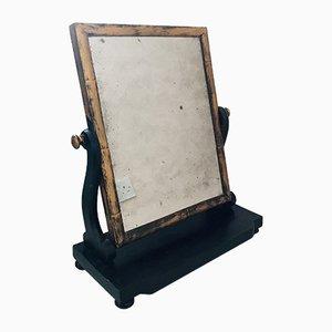 Übergroßer antiker viktorianischer Tischspiegel