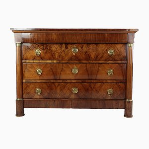 Antique Biedermeier Chest of Drawers, 1840s