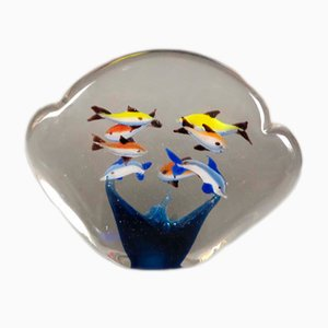 Pisapapeles de cristal de Murano, años 50