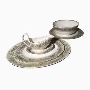 Servicio de sopa de porcelana de Josiah Wedgwood para Wedgwood, años 60