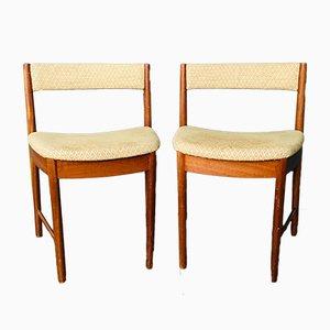 Esszimmerstühle aus Teak von Tom Robertson für A.H. McIntosh, 1970er, 2er Set