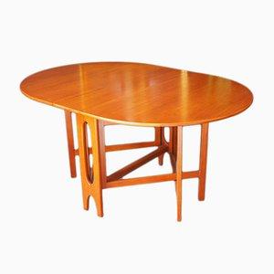 Teak Drop Leaf Dining Table, 1960s