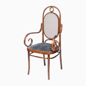 Sedia in faggio e legno curvato di Thonet, anni '60