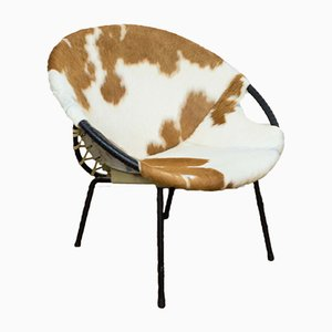 Mid-Century Balloon Armchair by Hans Olson for Lusch & Co