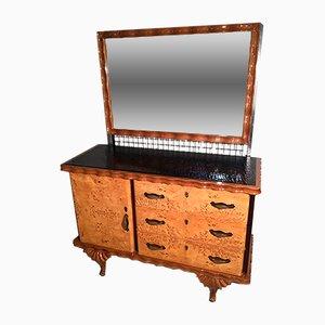 Juego de muebles Art Déco de 5 partes de OfficinadiRicerca, años 40
