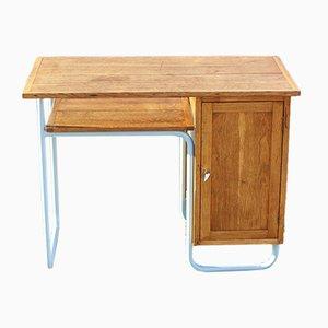 Schreibtisch von Jacques Hitier für Mobilor, 1950er