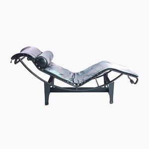 Modell LC4 Sessel von Le Corbusier, Charlotte Perriand und Pierre Jeanneret für Cassina, 1980er
