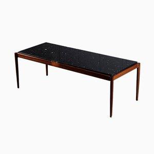 Mesa de centro de palisandro de ib kofod-larsen para Seffle Möbelfabrik, años 60