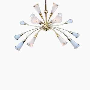 Vintage Chandelier from Lunel, 1950s