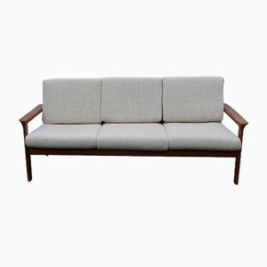 3-Seater Sofa by Ole Wanscher for France & Søn / France & Daverkosen