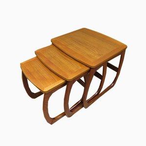 Tavolini ad incastro di Nathan, anni '60