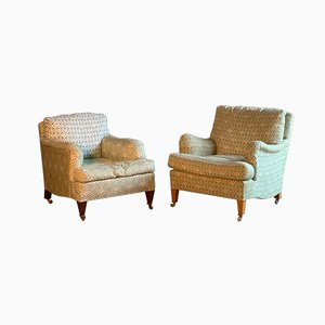 Bridgewater & Amazone Armchairs by Howard and Sons, 1950s, Set of 2