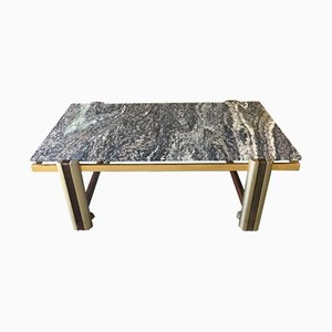 Swedish Marble Coffee Table, 1970s