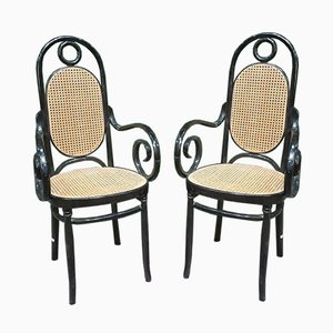 Bentwood Side Chairs from Jacob & Joseph Kohn, 1950s, Set of 2