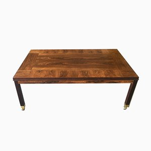 Swedish Rosewood Coffee Table from HMB Möbler, 1970s