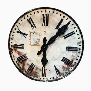 Reloj de torre francés, siglo XIX