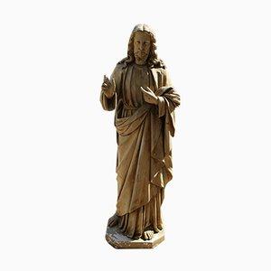 Estatua de Jesús antigua