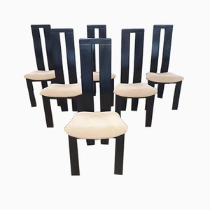 Dining Chairs, 1970s, Set of 6
